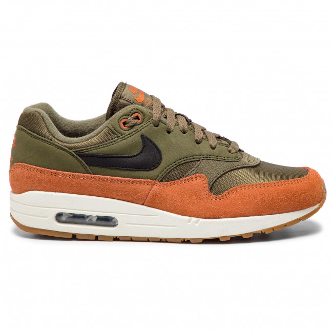 Shoes NIKE Air Max 1 AH8145 301 Olive CanvasBlackDark Russet