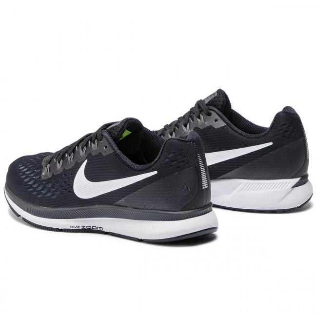 Shoes NIKE - Air Zoom Pegasus 34 880560 001 Black/White/Dark Grey
