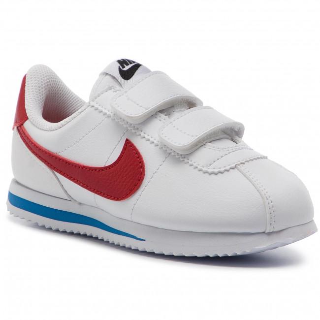 Shoes NIKE - Cortez Basic Sl (PSV) 904767 103 White/Varsity Red