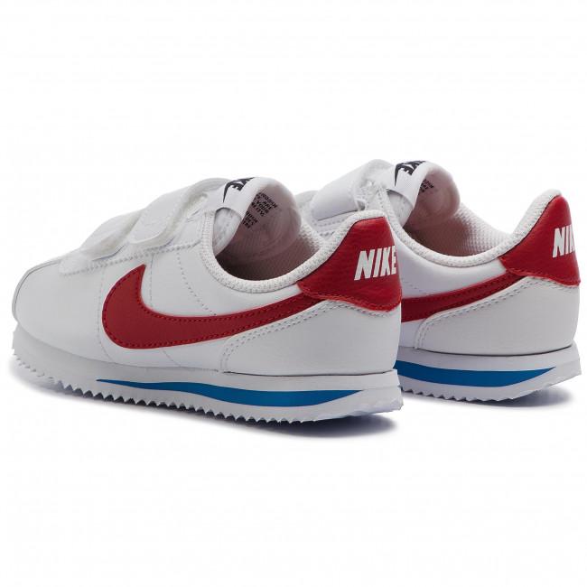 Shoes NIKE Cortez Basic Sl (PSV) 904767 103 WhiteVarsity Red