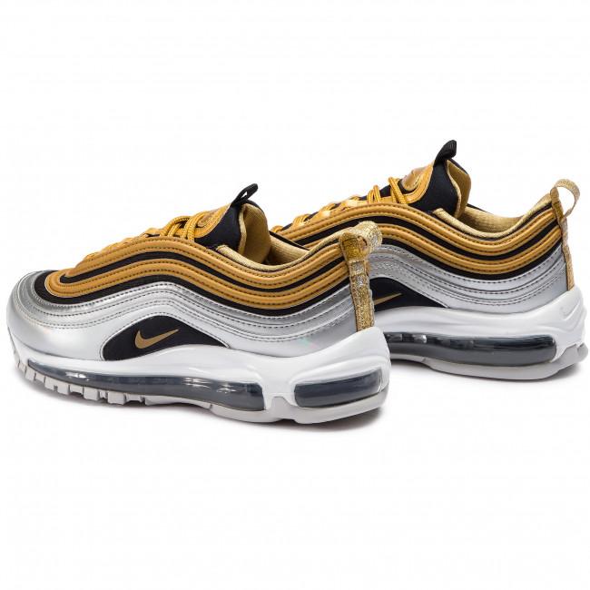 Nike W Air Max 97 SE Metallic Metallic Gold Metallic Silver Black