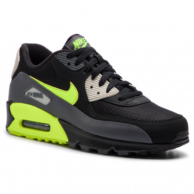 half off 52d4c a1b3f Shoes NIKE - Air Max 90 Essential AJ1285 015 Dark Grey/Volt ...