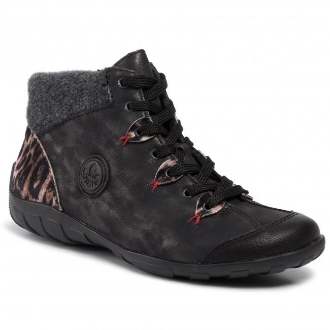 Rieker L6513 03 black Ladies' ankle boots Rieker Ladies