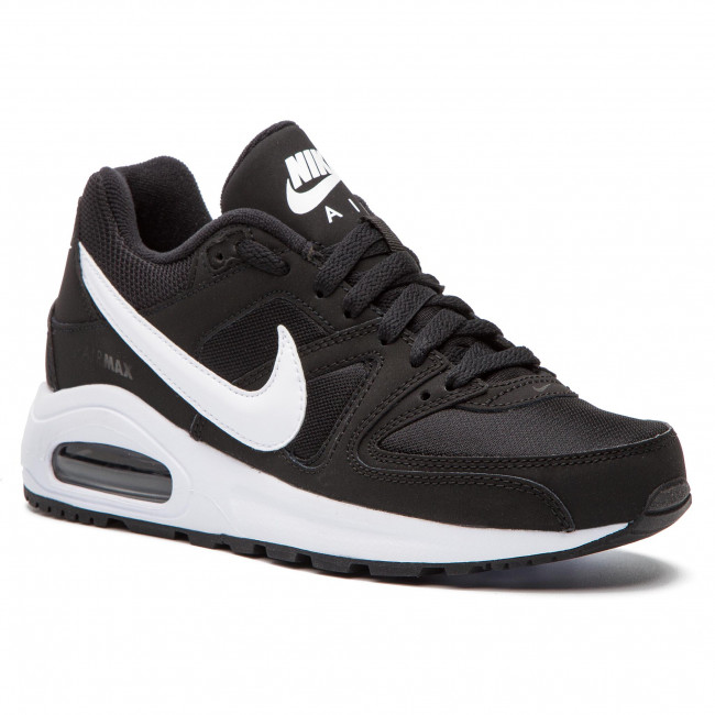Nike Air Max Command Flex (GS) Boys' Running Shoe blackwhite white 844346 011