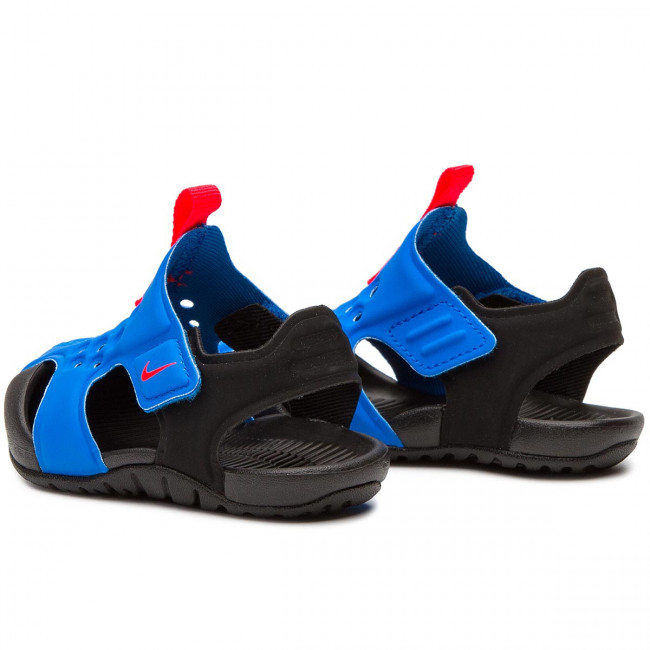 Sandals NIKE Sunray Protect 2 (TD) 943827 400 Photo BlueBright Crimson