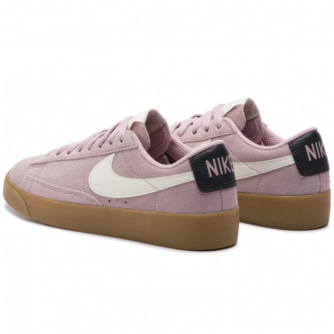 hot sale online 9557e 48591 Shoes NIKE - Blazer Low Sd AV9373 500 Plum Chalk/Sail/Oil Grey