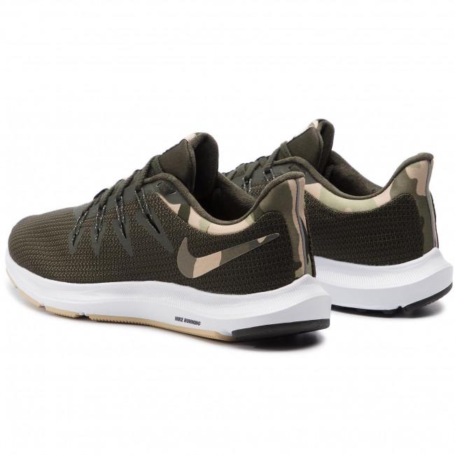 Shoes NIKE - Quest Camo BQ7158 300 Sequoia/Desert Ore