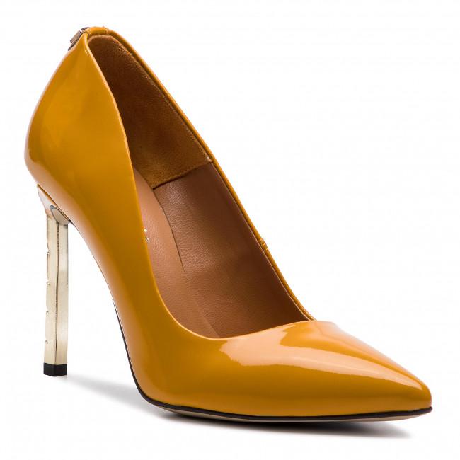 Stilettos R.POLAŃSKI - 0808 Żółty Lakier