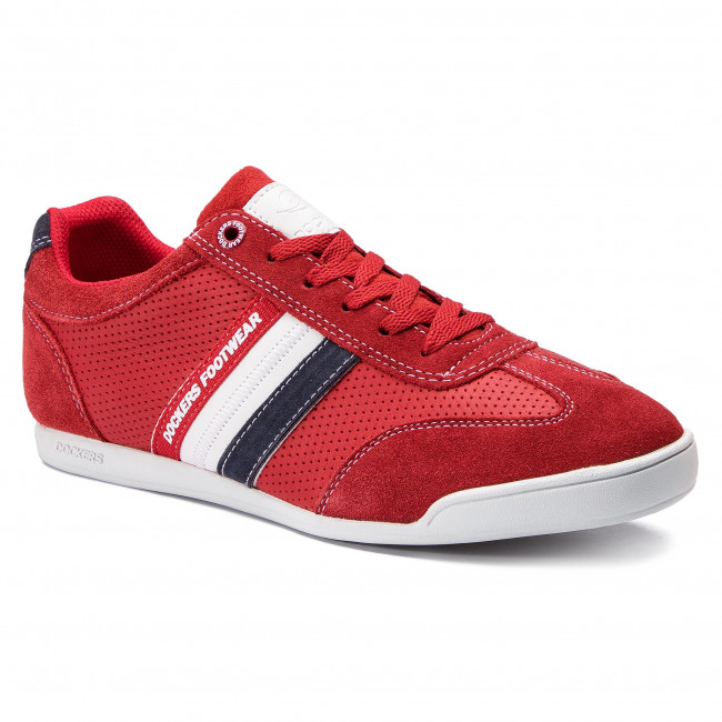 Trainers DOCKERS BY GERLI - 28PE021-201705 Red/White