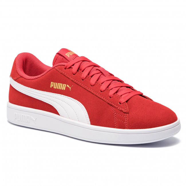 Sneakers PUMA - Smash V2 364989 22 High Risk Red/White/Gold