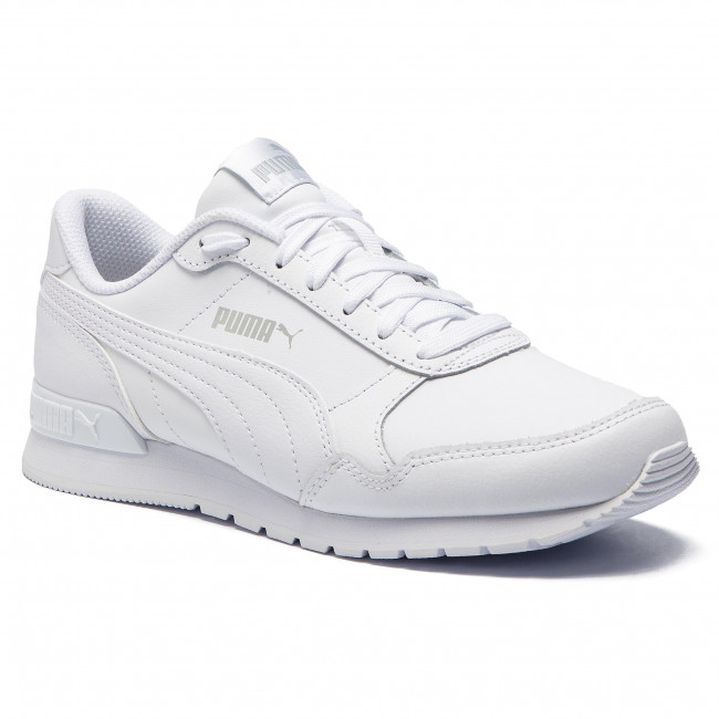 Sneakers PUMA - St Runner v2 L Jr 366959 02 Puma White/Gray Violet