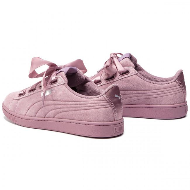 Sneakers PUMA Vikky V2 Ribbon S 369726 03 ElderberryElderberrySilver