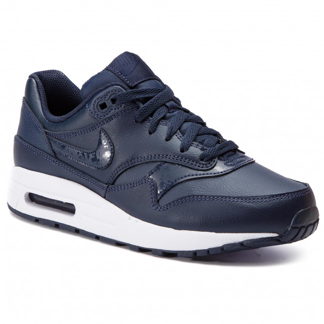 half off utterly stylish unique design Shoes NIKE - Air Max 1 (GS) 807602 402 Obsidian/Obsidian/White
