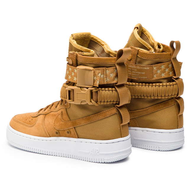 Shoes NIKE W Sf Af1 857872 203 Muted BronzeMuted Bronze