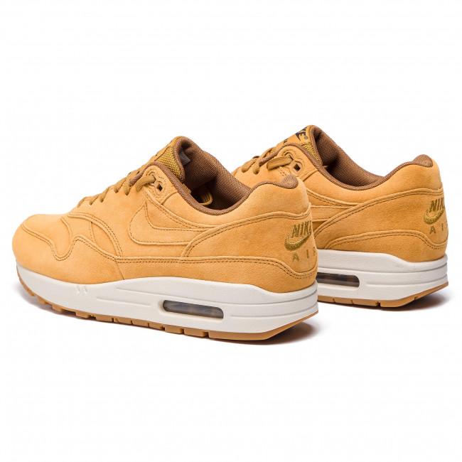Shoes NIKE Air Max 1 Premium 875844 701 WheatWheatLight Bone