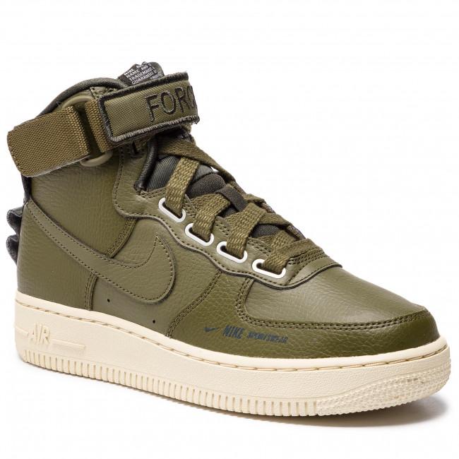 low priced 33ccc 6a78f Shoes NIKE - Af1 Hi Ut AJ7311 300 Olive Canvas/Olive Canvas