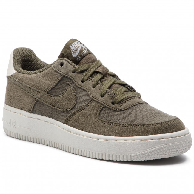Shoes NIKE Air Force 1 Suede (GS) AR0265 200 Medium OliveMedium OliveSail