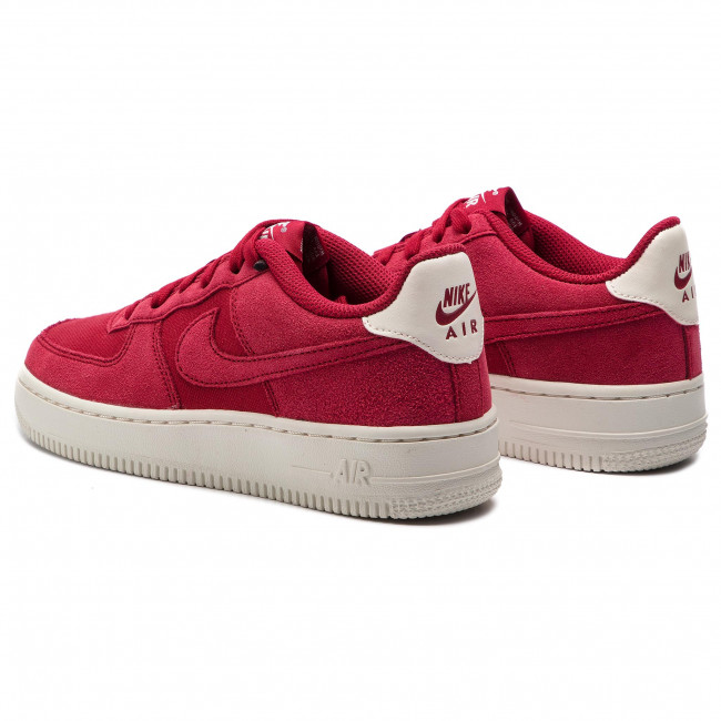 Shoes NIKE Air Force 1 Suede (GS) AR0265 600 Red CrushRed CrushSail