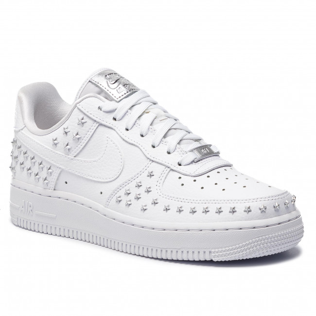 Nike AIR Force 1 07 XX Men's Sneaker Shoes in White Leather