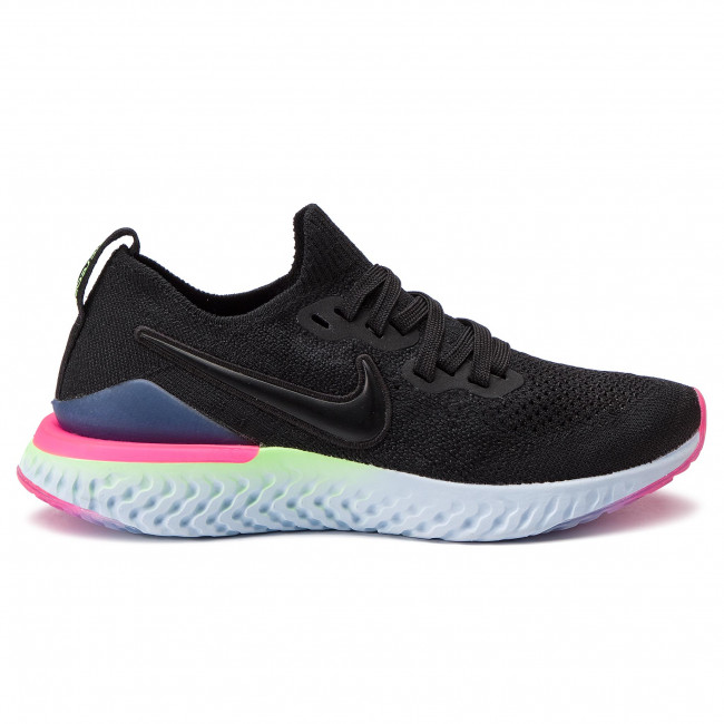 Details about Nike Free 4.0 Flyknit Womens Athletic Running Shoes Size 10 Purple Volt Black