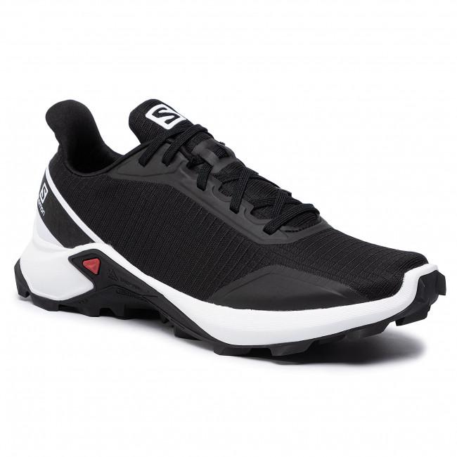 Shoes SALOMON Alphacross 407319 27 V0 BlackWhiteMonument
