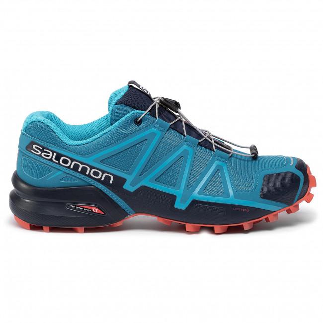 salomon speedcross 4 gtx fjord blue cherry tomato black mold