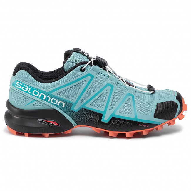 Shoes SALOMON Speedcross 4 W 407866 23 V0 MeadowbrookBlackExotic Orange