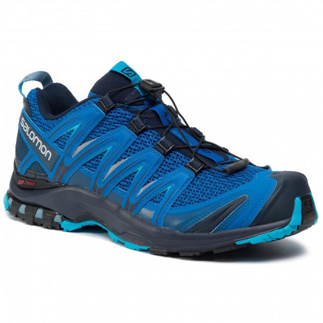Shoes SALOMON Xa Pro 3D 407888 29 V0 Sky DiverNavy BlazerHawaiian Ocean