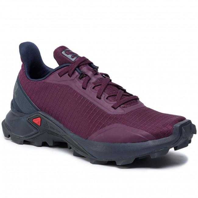 Shoes SALOMON Alphacross W 408048 20 V0 PotentPurpleNavy BlazerIndia Ink