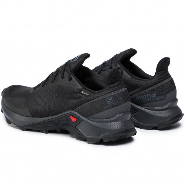 Shoes SALOMON - Alphacross Gtx GORE-TEX 408051 32 V0 Black/Ebony/Black -  Outdoor - Running shoes - Sports shoes - Men's shoes   efootwear.eu