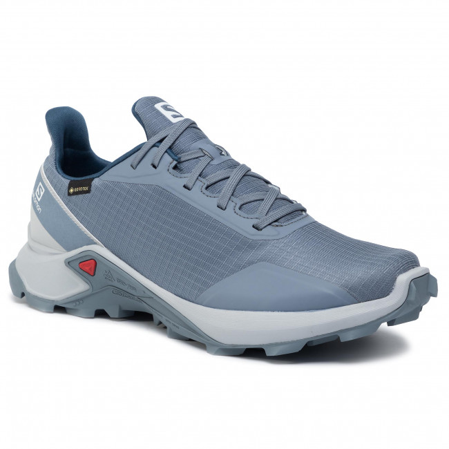 Shoes SALOMON - Alphacross Gtx GORE-TEX 408054 29 V0 Flint Stone/Pearl  Blue/Sargasso Sea - Outdoor - Running shoes - Sports shoes - Women's shoes    efootwear.eu