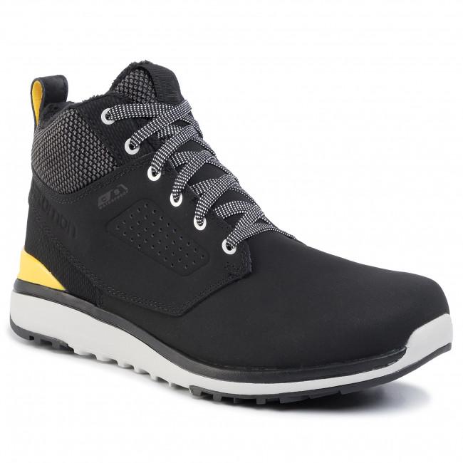 Boots SALOMON - Utility Freeze Cs Wp 402337 27 Black/Black/Empirie Yellow