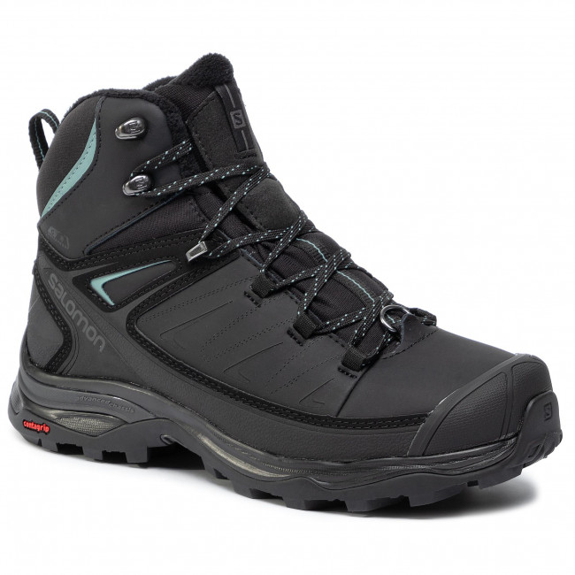 Trekker Boots SALOMON X Ultra Mid Winter Cs Wp W 404796 21 V0 BlackPhantomTrellis