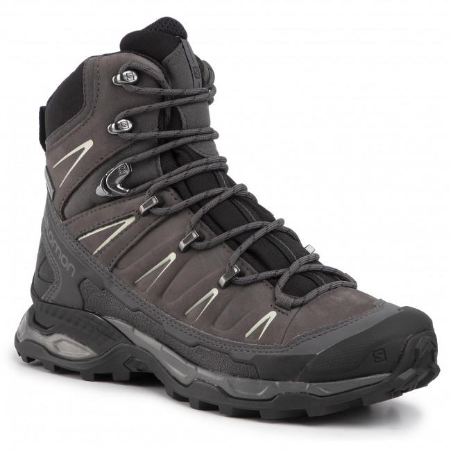 Trekker Boots SALOMON X Ultra Trek Gtx W GORE TEX 407984 20 BlackMagmetMineral Grey