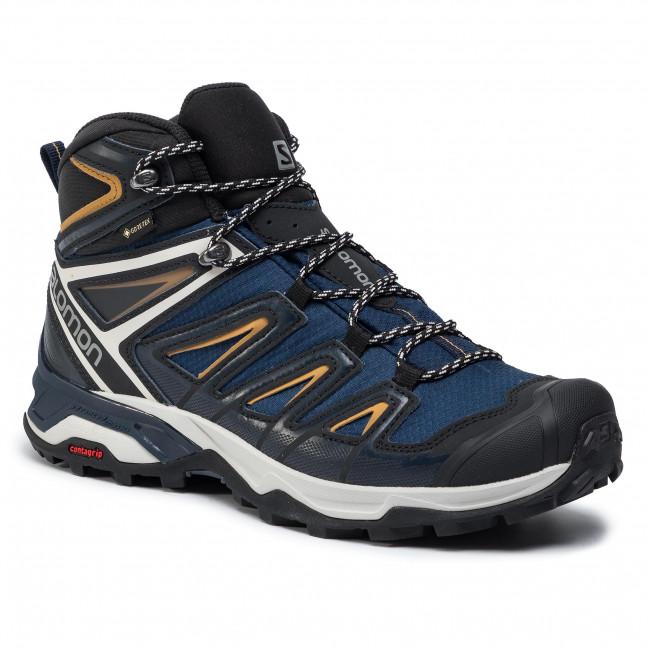 Trekker Boots SALOMON X Ultra 3 Mid Gtx GORE TEX 408141 29 W0 Sargasso SeaDark SapphireBistre