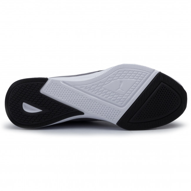 Herren Mesh Puma Flyer Runner Sneaker 03 grey black 192257