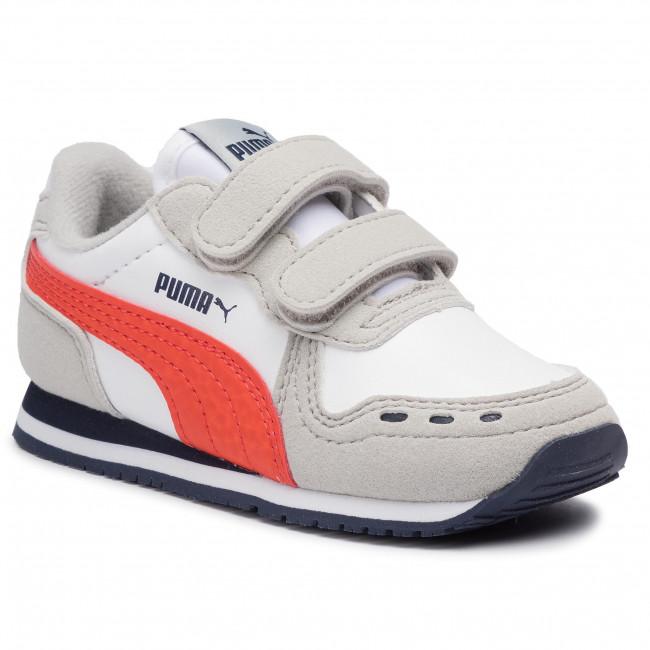 Sneakers PUMA - Cabana Racer Sl V Inf 351980 76 Puma White/Gray Violet