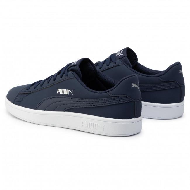 Sneakers PUMA Smash V2 Buck 365160 15 PeacoatPuma SilverWhite