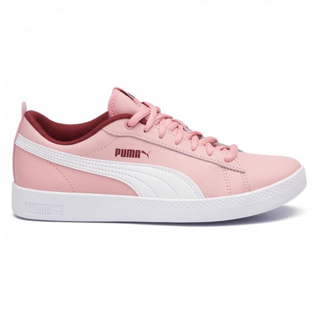 puma smash platform rosa