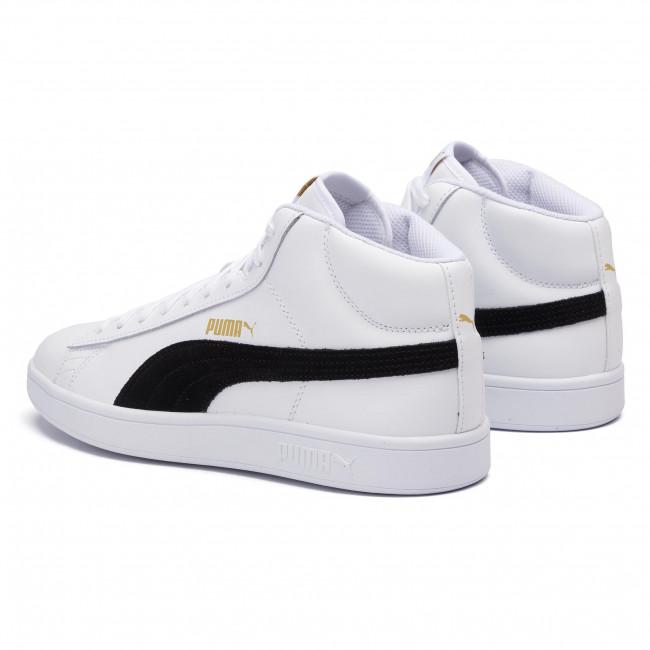 Sneakers PUMA Smash v2 Mid L 366924 05 WhiteBlackGold