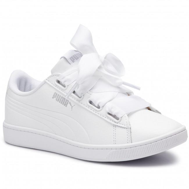 Sneakers PUMA Vikky V2 Ribbon Core 369114 02 Puma WhitePuma Silver