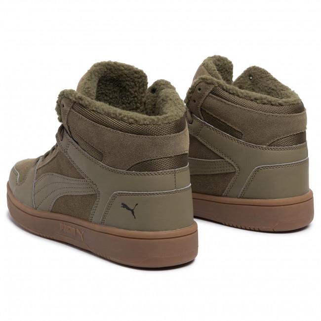 Sneakers PUMA Rebound LayUp SD Fur 369831 03 Burnt Olive