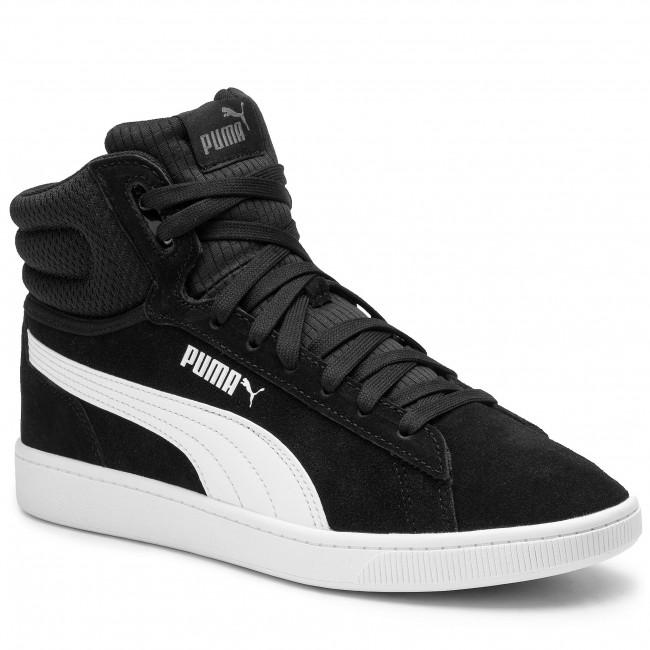 Sneakers PUMA Vikky V2 Mid 369867 01 Puma BlackWhiteSilverPink