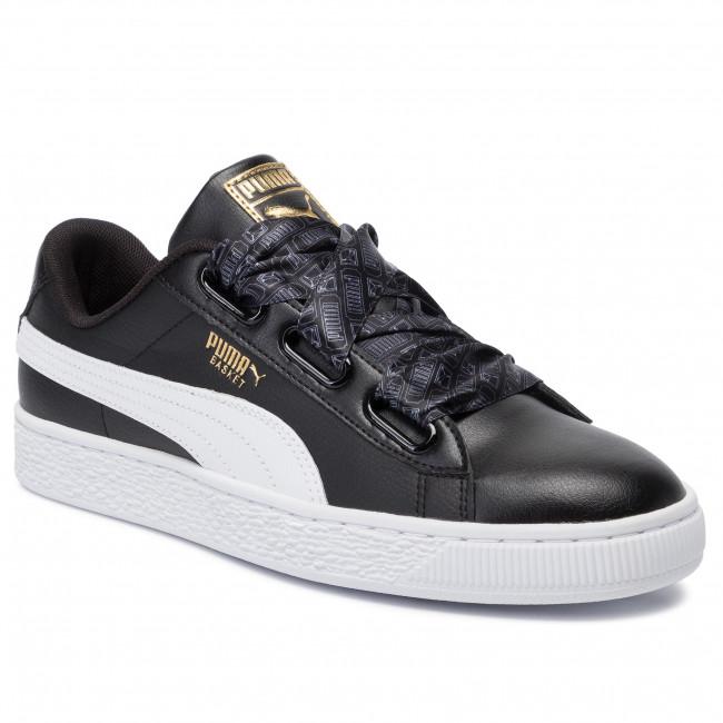 Sneakers PUMA Basket Heart Reinvent Wn's 369935 02 Puma BlackPuma Black