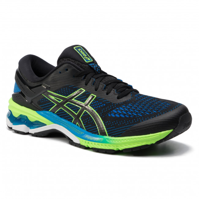 Shoes ASICS Gel Kayano 26 1011A541 BlackElectric Blue 003
