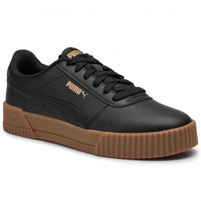 Puma Carina Suede Ladies Trainers | Casual shoes, Black puma