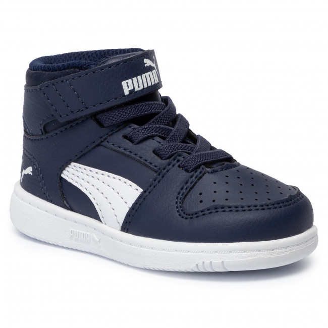 Puma Rebound Layup Sl V Inf Puma White Black gray Violet