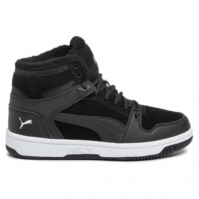 Sneakers PUMA - Rebound Layup Fur SD Jr 370497 01 Puma Black/Puma White
