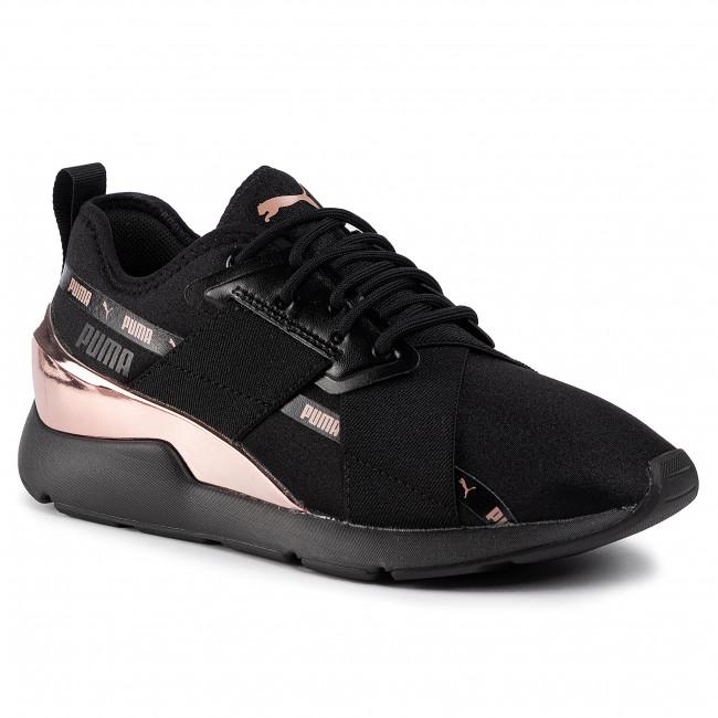 Sneakers PUMA Muse X 2 Metallic Wn's 370838 01 Puma BlackRose Gold