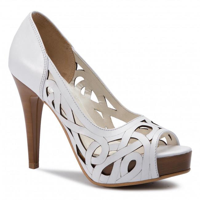 Stilettos R.POLAŃSKI - 0998 Biały Lico
